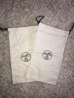 Authentic Hermès Dust Bag Set for Sale in Los Angeles, CA