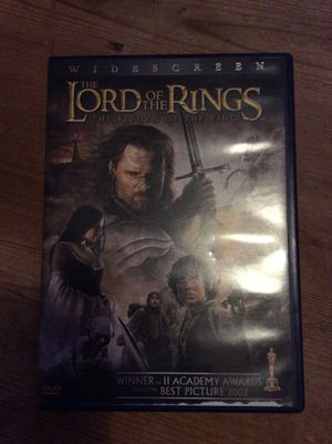 Lord of the rings return of the king wide screen! for Sale in San Francisco, CA