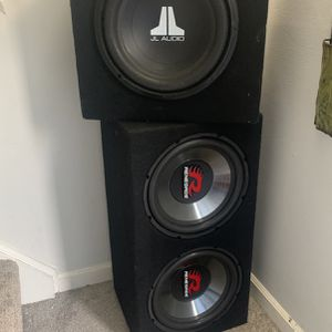 3 12in Speakers for Sale in Buffalo, NY