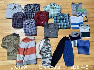 J crew crew cuts boys size 4-5 for Sale in Jersey City, NJ