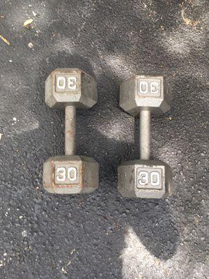 Set 30 dumbbells (read description) for Sale in Tampa, FL