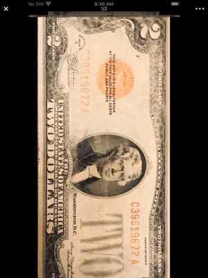 $2 bill 1928 D. for Sale in Beaverton, OR