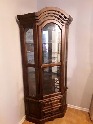 Corner Curio Cabinet for Sale in Greenville, SC
