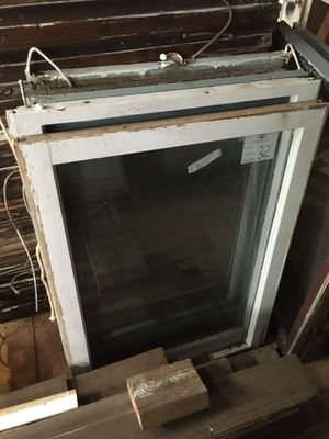 124 year old wood frame windows with glass for Sale in Marshall, TX