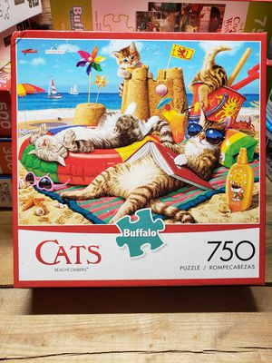 "Buffalo Games ""cats beachcombers"" 750 pc puzzle NEW for Sale in Indianapolis, IN"