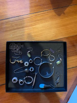 Misc jewelry pieces- some silver for Sale in Boston, MA