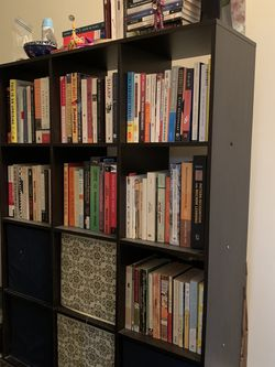 Black Storage Unit / Cube Book Case Shelves for Sale in Queens,  NY