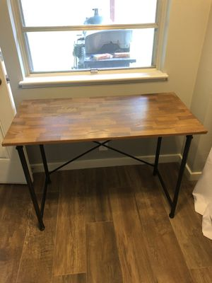 Metal and wood desk for Sale in Austin, TX