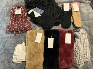 Brand New Women Hat or Mittens or Scarf - $5 Each for Sale in Dallas, TX