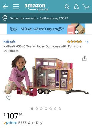 kidkraft teeny dollhouse New In Box for Sale in Gaithersburg, MD