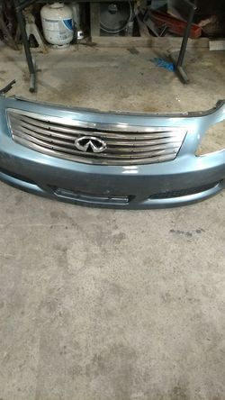 Infiniti G35 front bumper for Sale in Washington,  DC