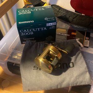 Shimano Calcutta 200B Reel for Sale in San Jose, CA