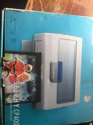 Canon selphy compact photo printer for Sale in Three Rivers, MI