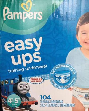 Pampers diapers easy ups size 4/5T for Sale in Downey, CA