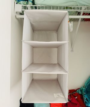 Ikea polyester hanging organizer/rack for Sale in Jackson Township, NJ