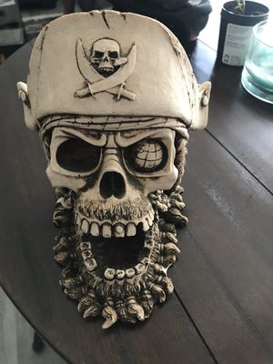 Decorative pirate skull for Sale in Los Angeles, CA