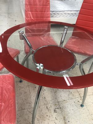 DINING SER 4 chairs NEW for Sale in Hialeah, FL