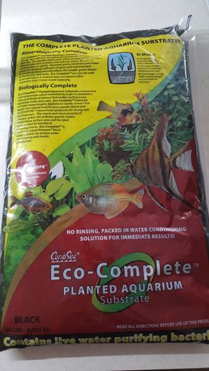 Eco complete planted aquarium substrate for Sale in Davenport, FL