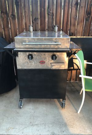 Custom made flat grill propane Stainless Steel for Sale in Riverside, CA