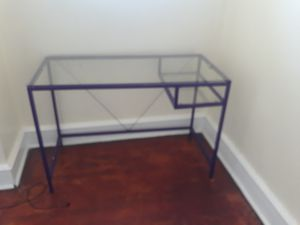 Glass desk for Sale in Philadelphia, PA
