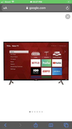 "TCL 32"" inch Smart Roku TV for Sale in Socorro, TX"
