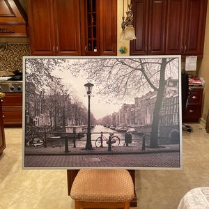 Large Photograph Of Amsterdam for Sale in Hollywood, FL