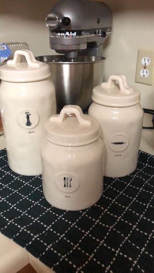 Rae Dunn Icon Canister Set for Sale in Paso Robles, CA