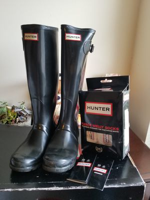 Women's Hunter boots size 7 for Sale in Stone Mountain, GA