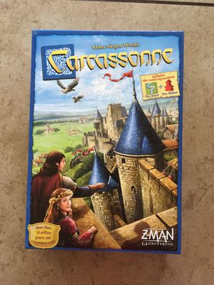 Carcassonne board game for Sale in Phoenix, AZ