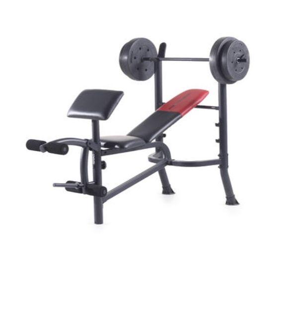 Bench & Weight Set