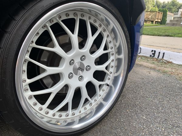 19 inch iss rims with tire