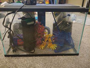 Aquarium kit 5 gallon for Sale in Mount Oliver, PA