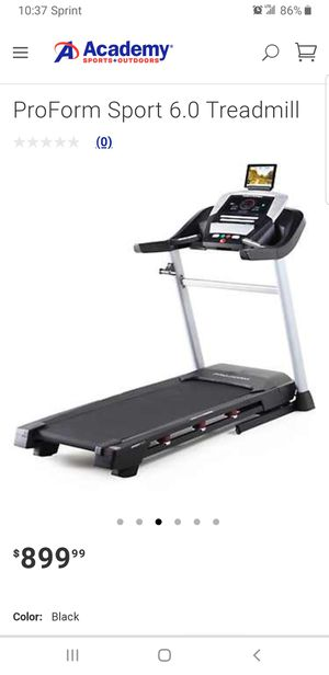 ProForm sport 6.0 treadmill for Sale in Kyle, TX