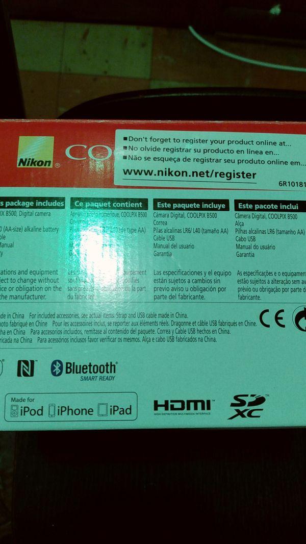 COOLPIX B500 Nikon camera full movie HD