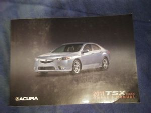 OEM 2011 ACURA TSX OWNERS MANUAL for Sale in Lindon, UT