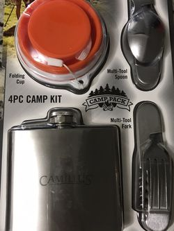 4 Pc Camp Kit for Sale in Bowling Green,  FL