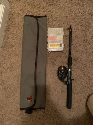 Traveling Fishing Starters Kit for Sale in Rochester, MN