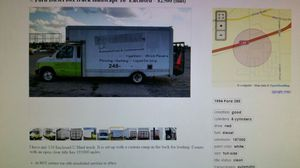 Ford Diesel box truck landscape 16' Enclosed for Sale in Flint, MI