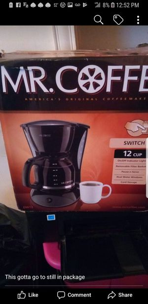 Coffee maker for Sale in Baltimore, MD