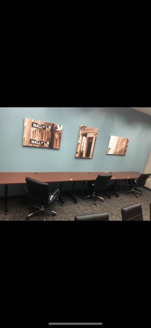 Office furniture desk , credenza , tables for Sale in Berkeley, CA