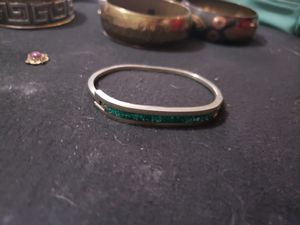 Turquoise silver bracelet for Sale in Baltimore, MD