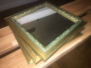 Set of gold antique mirrors for Sale in Chapel Hill, NC