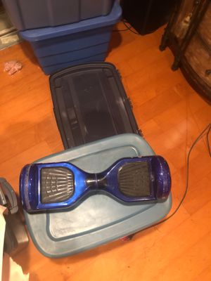 Blue hoverboard for Sale in Marlboro Township, NJ