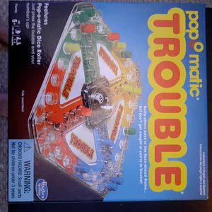 Board Games Battleship/ Trouble for Sale in PT CHARLOTTE, FL