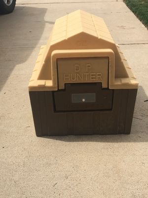 Insulated dog house with heater/heat pad for Sale in Aurora, CO