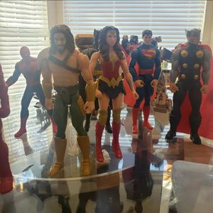 Marvel, dc comics action figures lot for Sale in Bowie, MD