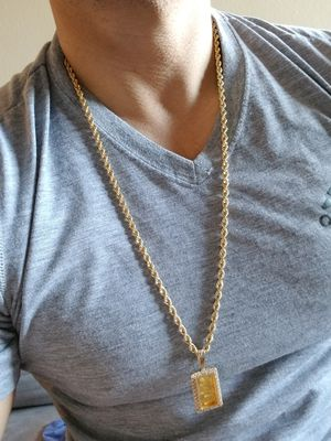 28 inch 14k solid gold rope chain for Sale in El Paso, TX