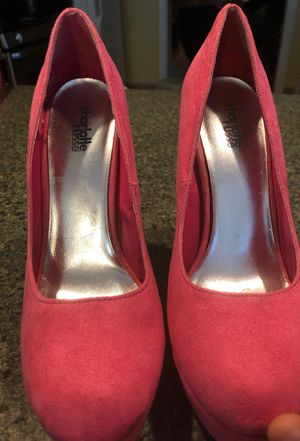 6 inch heels pink size 8 for Sale in Revere, MA
