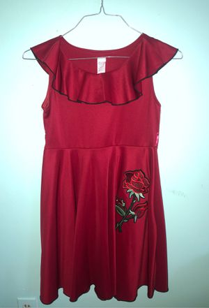 RED ROSE 14 KIDS DRESS for Sale in Los Angeles, CA