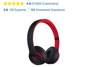 Beats by Dr. Dre - Beats Solo³ Wireless Headphones - The Beats Decade - $195.00 for Sale in Quincy, MA